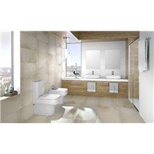 WC complet réservoir bas BTW Clean Rim Mid GALA
