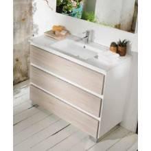 Meuble Life 3 tiroirs sans plan vasque B10