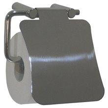 Dérouleur de papier WC avec couvercle gris Medinox Mediclinics