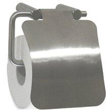 Dérouleur de papier WC avec couvercle satiné Medinox Mediclinics