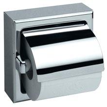 Dérouleur de papier WC avec couvercle brillant Medisteel Mediclinics