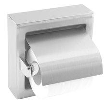 Dérouleur de papier WC avec couvercle satiné Medisteel Mediclinics