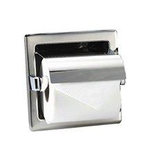 Dérouleur de papier WC encastré gris Medisteel Mediclinics