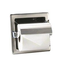 Dérouleur de papier WC gris encastré Medisteel Mediclinics