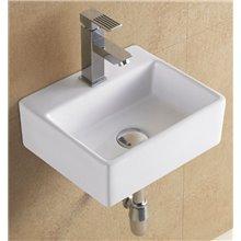 Vasque à poser ou lavabo mural 33 fond reduit GME
