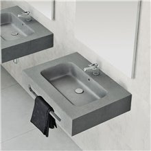 Plan vasque avec tablier PEAU NUDESPOL