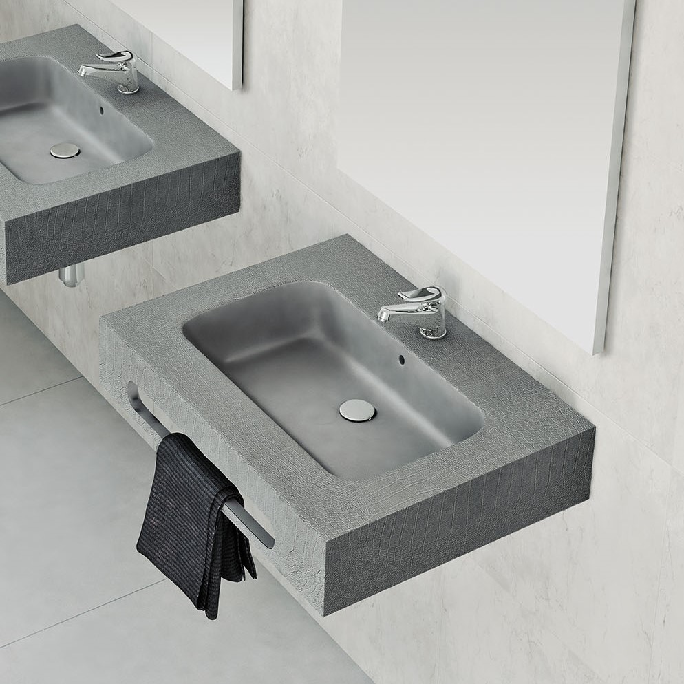 Plan Vasque Sur Mesure plan vasque avec tablier peau nudespol