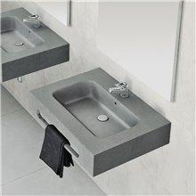 Plan vasque sans tablier PEAU NUDESPOL