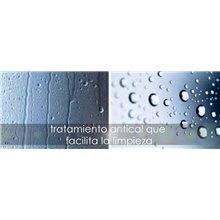 Traitement anti-calcaire pour parois de douche