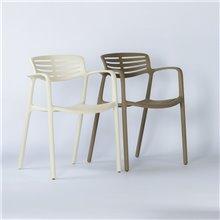 Lot de 2 chaises ivoire Tolède Aire Resol