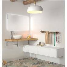 Plan de toilette en bois de 4 cm Spirit Salgar
