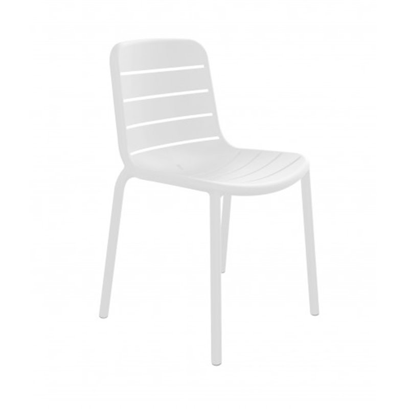 Lot de 2 chaises blanches Gina Resol