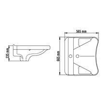 Lavabo ergonomique Casual Mediclinics