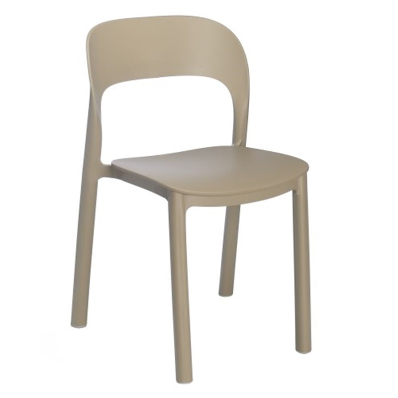 Lot de 4 chaises sable ONA de Resol