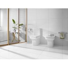 WC réservoir bas compact beige Dama Roca