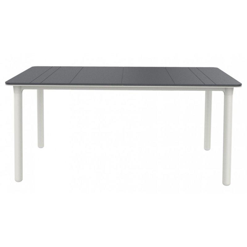 Grande table grise et blanche Noa de Resol