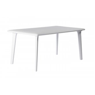 Grande table blanche New Dessa de Resol