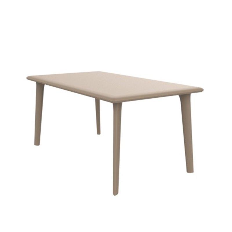 Grande table sable New Dessa de Resol