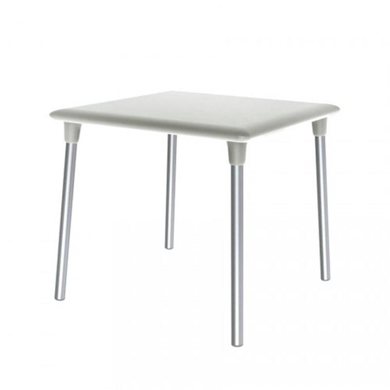 Table carrée blanche New Flash de Resol
