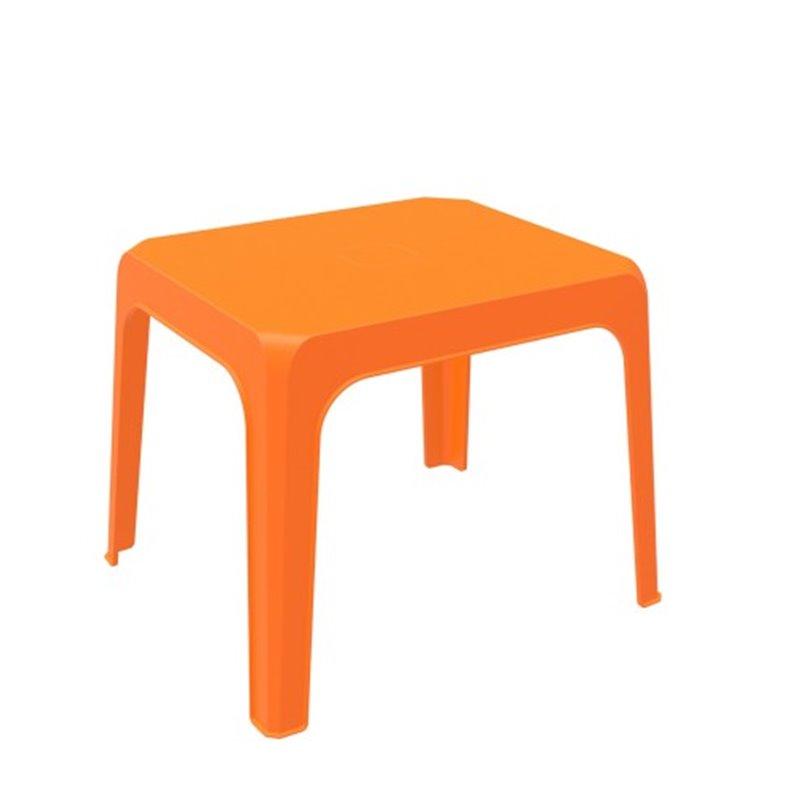 Lot de 4 tables enfant oranges Jan Resol