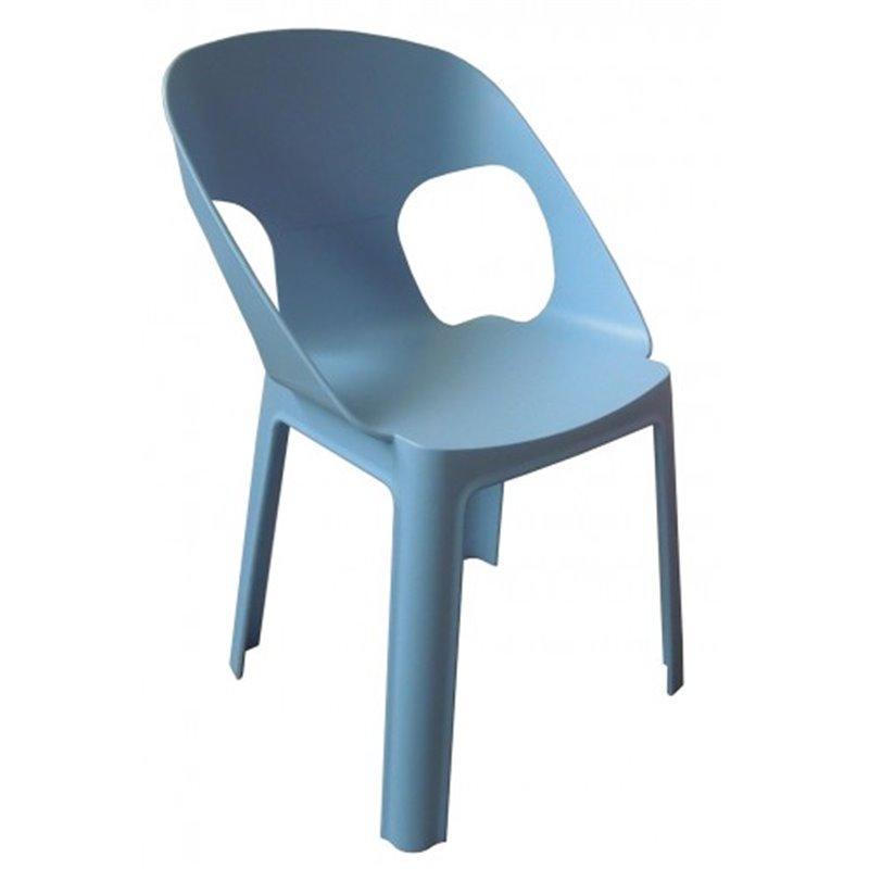Lot de 4 chaises enfant bleues Rita Resol