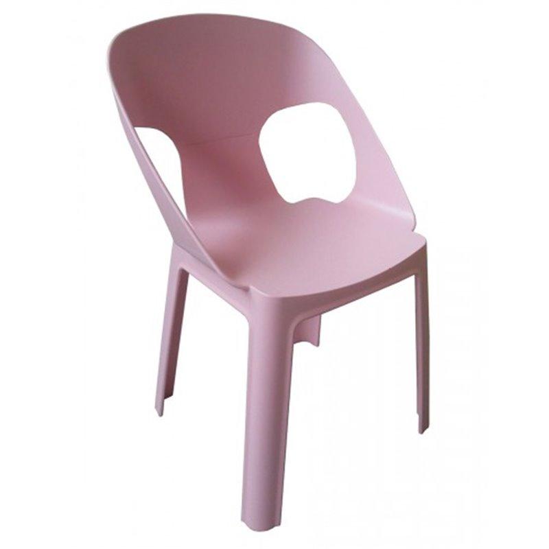 Lot de 4 chaises enfant roses Rita Resol