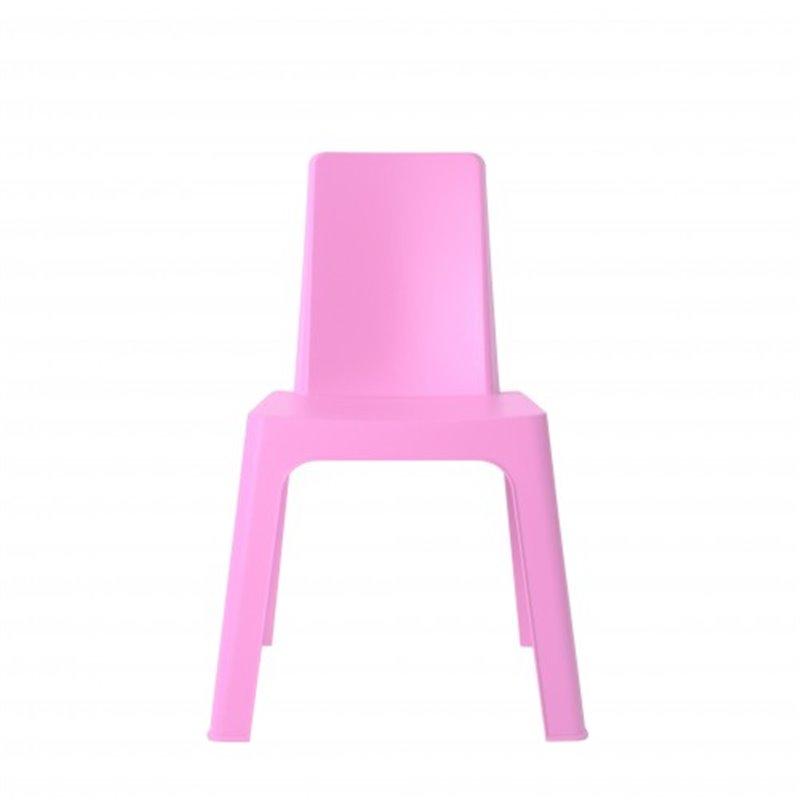 Lot de 4 chaises enfant roses Juliette Resol