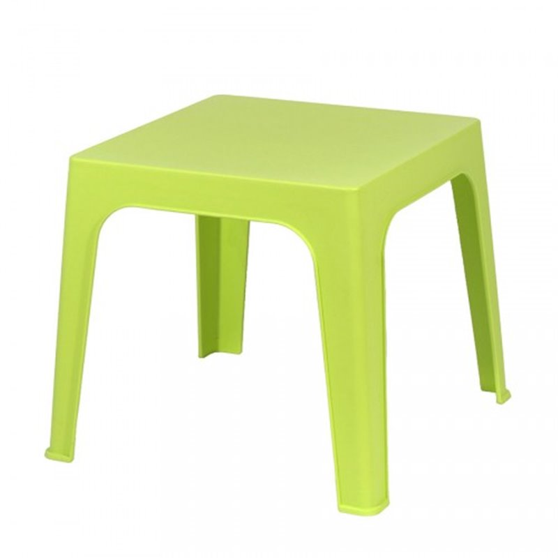 Lot de 4 tables enfant vert citron Juliette Resol