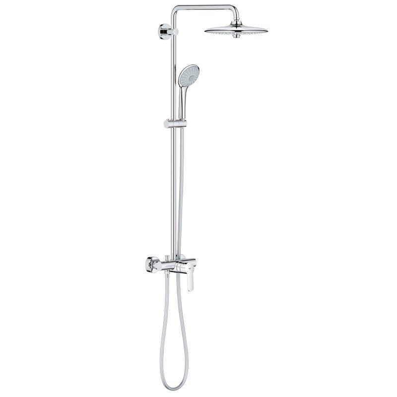habitiumfr colonne de douche avec mitigeur grohe