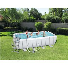 Piscine rectangulaire 488x244x122 cm Power...