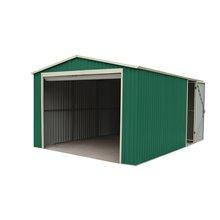 Garage en métal 20,09m² Essex vert Gardiun