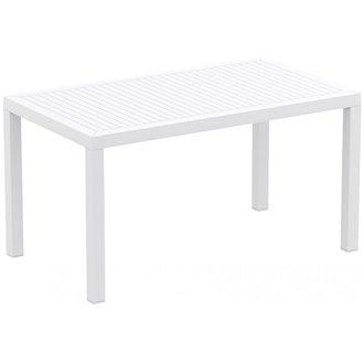 Table rectangulaire blanche Artic de Resol