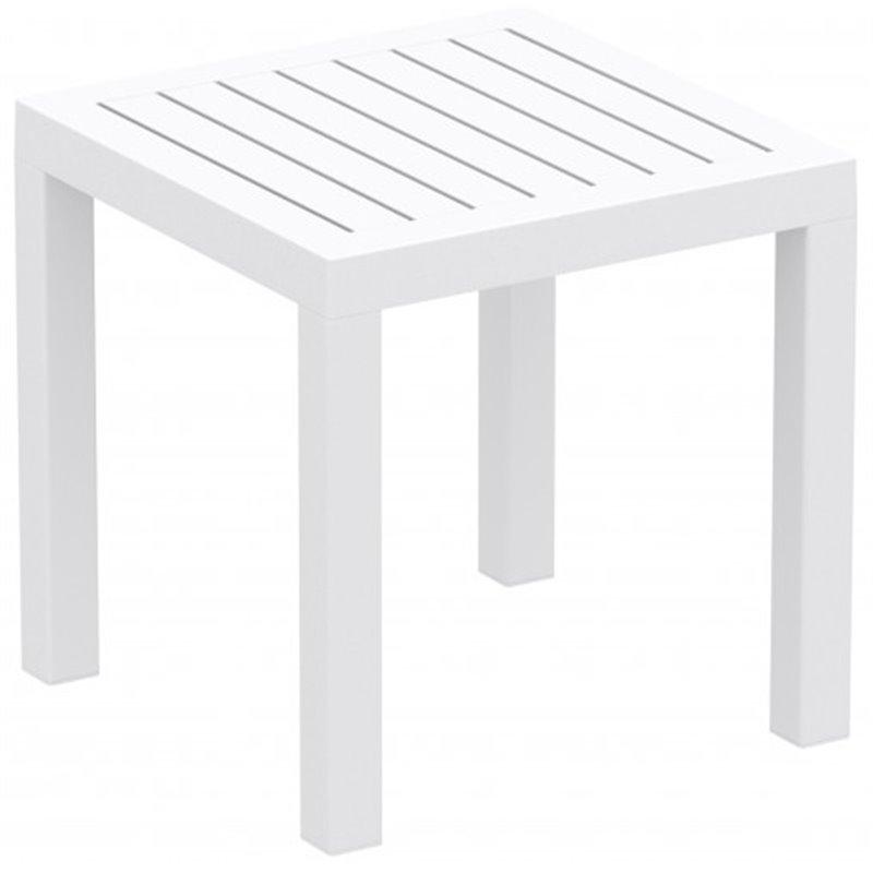Table d'appoint blanche CLIC-CLAC de Resol