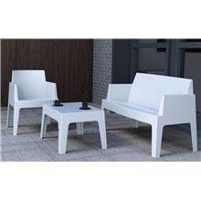 Canapé blanc d'extérieur URBAN de Resol