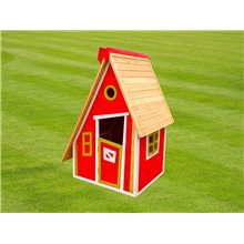 Maisonnette pour enfants 1,24m² Peter rouge...
