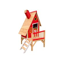 Maisonnette pour enfants 2,82m² Alicia rouge...