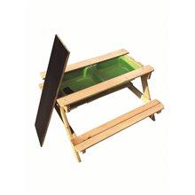 Table de pique-nique pour enfants 90x90x50cm...