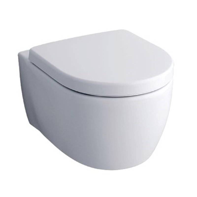 WC suspendu compact Geberit iCon Rimfree