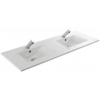 Plan vasque double à encastrer (2 bacs) ÁREA Sanindusa