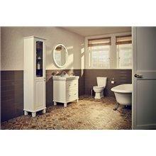 Meuble 80cm 2 tiroirs et lavabo Carmen Roca