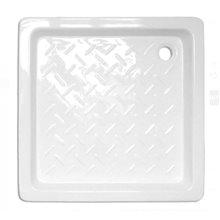 Receveur de douche en céramique carré 80x80 Tegler
