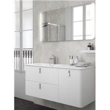 Meuble 1200/D blanc mat Uniiq Salgar