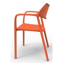: Lot de 2 chaises orange Tolède Aire Resol