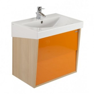 Meuble URBY 65 orange chêne Sanindusa