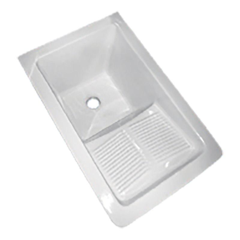 Bac à laver avec égouttoir 60 x 40 cm TEGLER