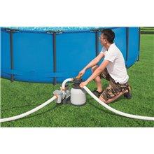 Pompe de filtration à sable 5678 L/Heure Bestway