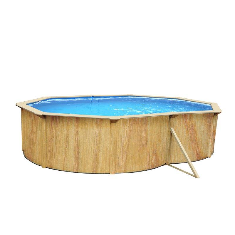 piscine ovale en kit en acier renforc irati k2o 490. Black Bedroom Furniture Sets. Home Design Ideas