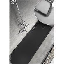 Receveur de douche Silk Noir - B10