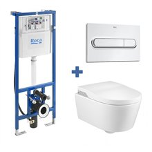 Ensemble Smart Toilet In-Wash suspendu Inspira...