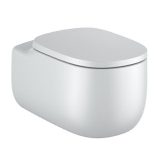 WC Rimless suspendu perle Beyond Roca de 58 cm